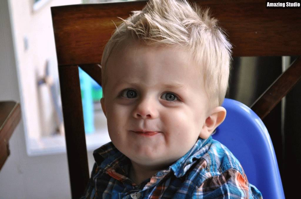 Toddler Boy Haircuts For Fine Hairs Youtube