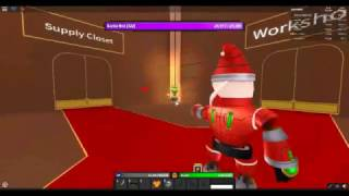 Roblox Monster Islands - Santa Bot fight