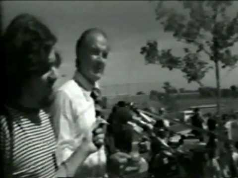 George McGovern running for president in 1971