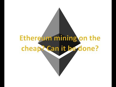 Building An Inexpensive Ethereum Mining Rig, Part 1: The Components