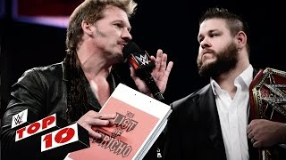 Top 10 Raw moments: WWE Top 10, Oct. 11, 2016