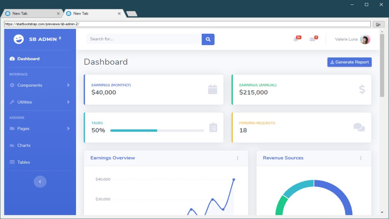 C# Tutorial - Chromium Embedded Framework Browser Tabs Close Button using  CefSharp | FoxLearn