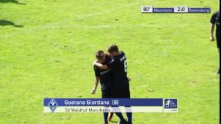 A-Junioren - SV Waldhof Mannheim vs. FV Ravensburg 2:0 - Gaetano Giordano