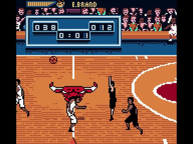 Game Boy Color Longplay [180] NBA Hoopz (US)