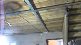 Установка  профиля для гипсокартона на потолок длиной больше 5м