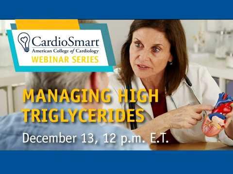 CardioSmart | Managing High Triglycerides