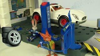 Zootropolis  kahramaı Judy tamirhanede thumbnail