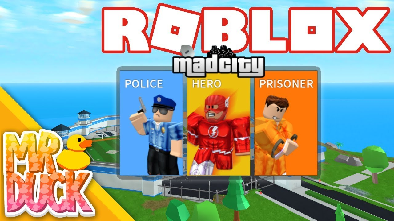 Creator Of Mad City Roblox Jailbreak S New Competitor With Heroes Roblox Mad City Youtube