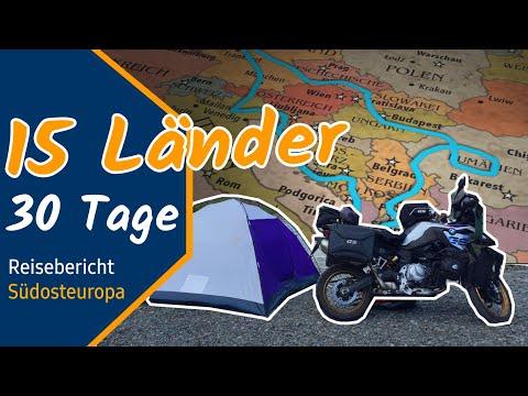 30 Tage mit Motorrad durch 15 Länder - Südosteuropa Reisebericht (Transfăgărășan, Transalpina...)