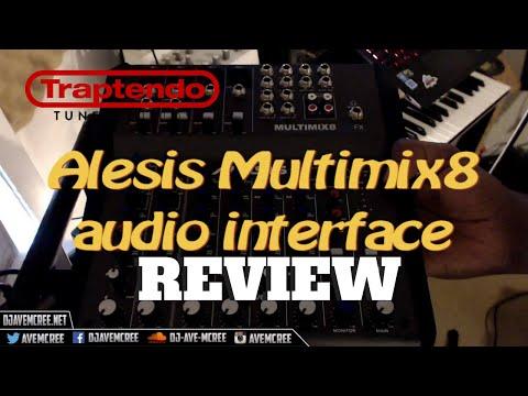Review: Alesis Multimix8 audio interface