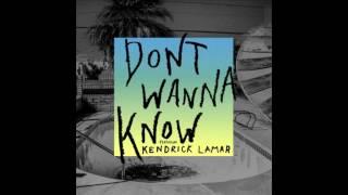 Maroon 5 - Don't Wanna Know Ft. Kendrick Lamar (Download MP3)