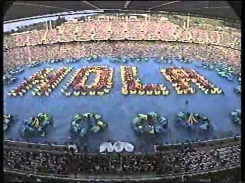 inaguración Juegos Olimpicos Barcelona 1992