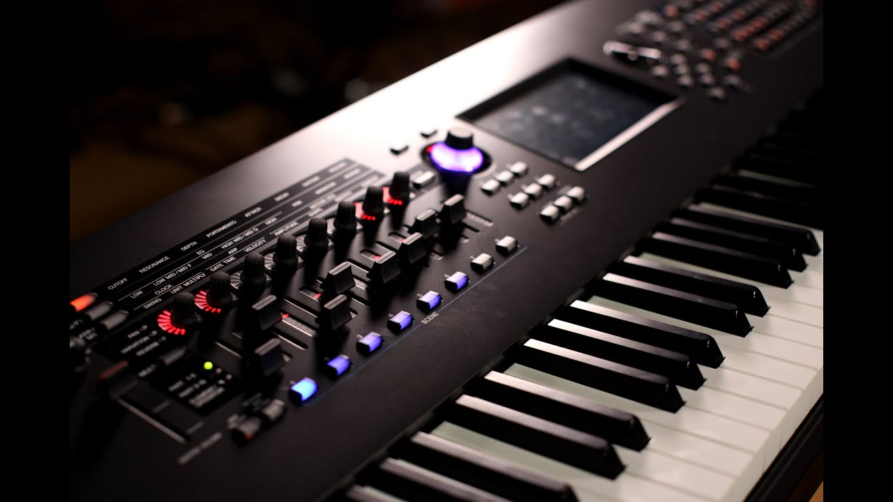 yamaha montage synthesizer demo with blake angelos - youtube