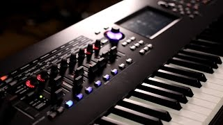Yamaha Montage Synthesizer Demo with Blake Angelos