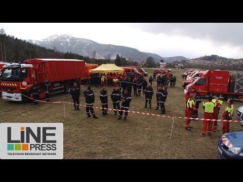 Crash A320. Organisation secours - balai aérien / Seyne-les-Alpes (04) - France 24 mars 2015