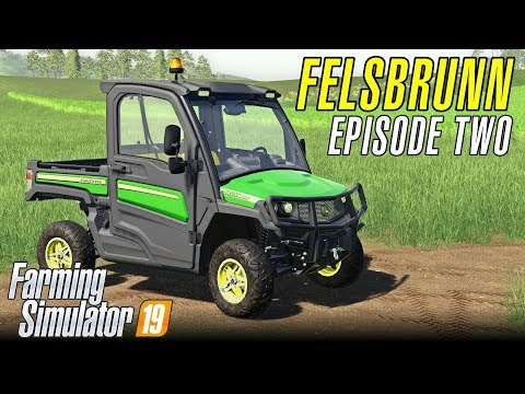 GATOR AND THE DOG   Let's Play Farming Simulator 19   Episode 2