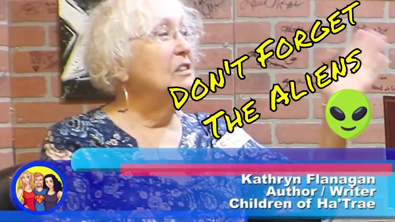 Seeding a Planet With Life! Remarkable Women in Fiction with Author Kathryn Flanagan on HWWS WebTV