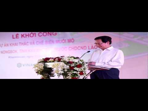Vietnam Inaugurates Rock Salt Project In Khammuan