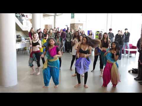 Flash Mob Dance During International Week Augustana Campus University of Alberta