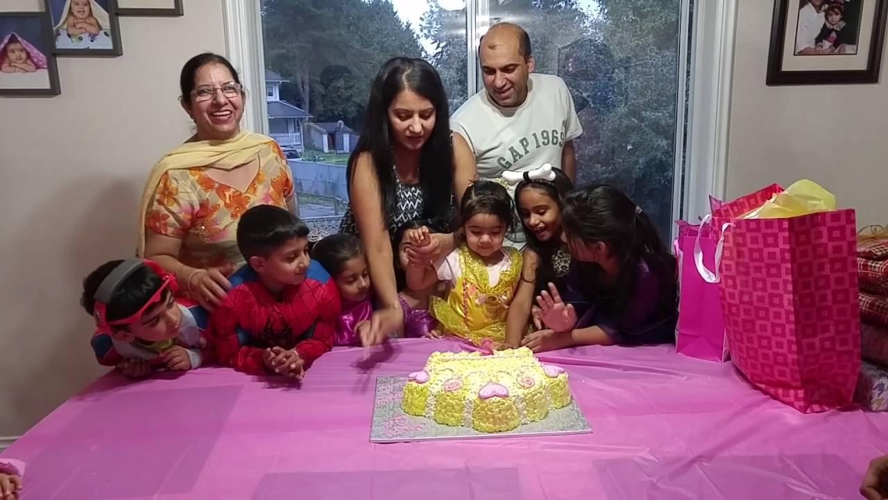 Zeenat cake cutting YouTube