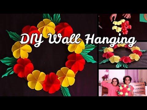 diy-wall-hanging-||-easy-craft-ideas-for-kids-||-saanveekhushee