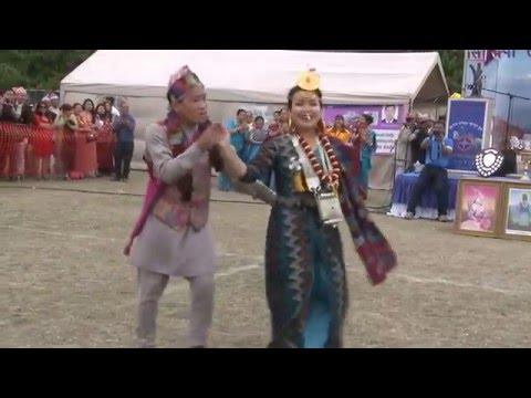 Kirat Yakthum Chumlung 2015 (lunga lai bhetda by Rasna Limbu and Bikash limbu (sisekpa tangnam 2015)