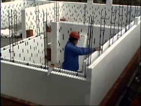 ICF Insulated Concrete Forms block Blocks House Project ...