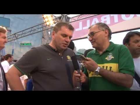 Socceroos coach Ange Postecoglou Antena Hispana