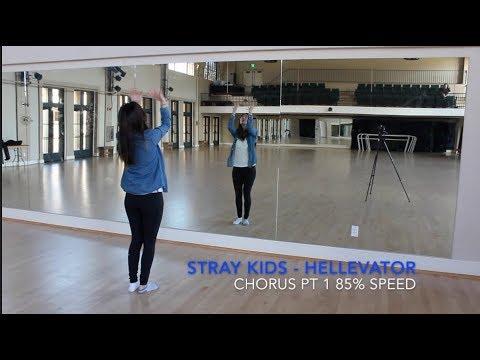 [ECLIPSE] Stray Kids(스트레이 키즈) - Hellevator Dance Tutorial | Prechorus + Chorus