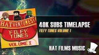 ♫ Hat Films - 40k Subs Timelapse