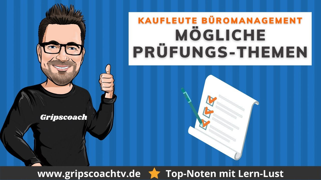 Tipps Prüfungsvorbereitung Kaufmann / Kauffrau für