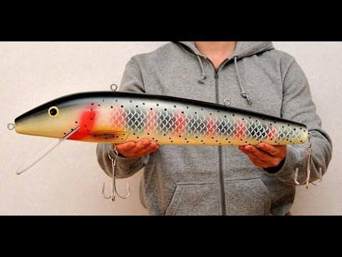Top 5 most expensive lures youtube for Most expensive fishing lure