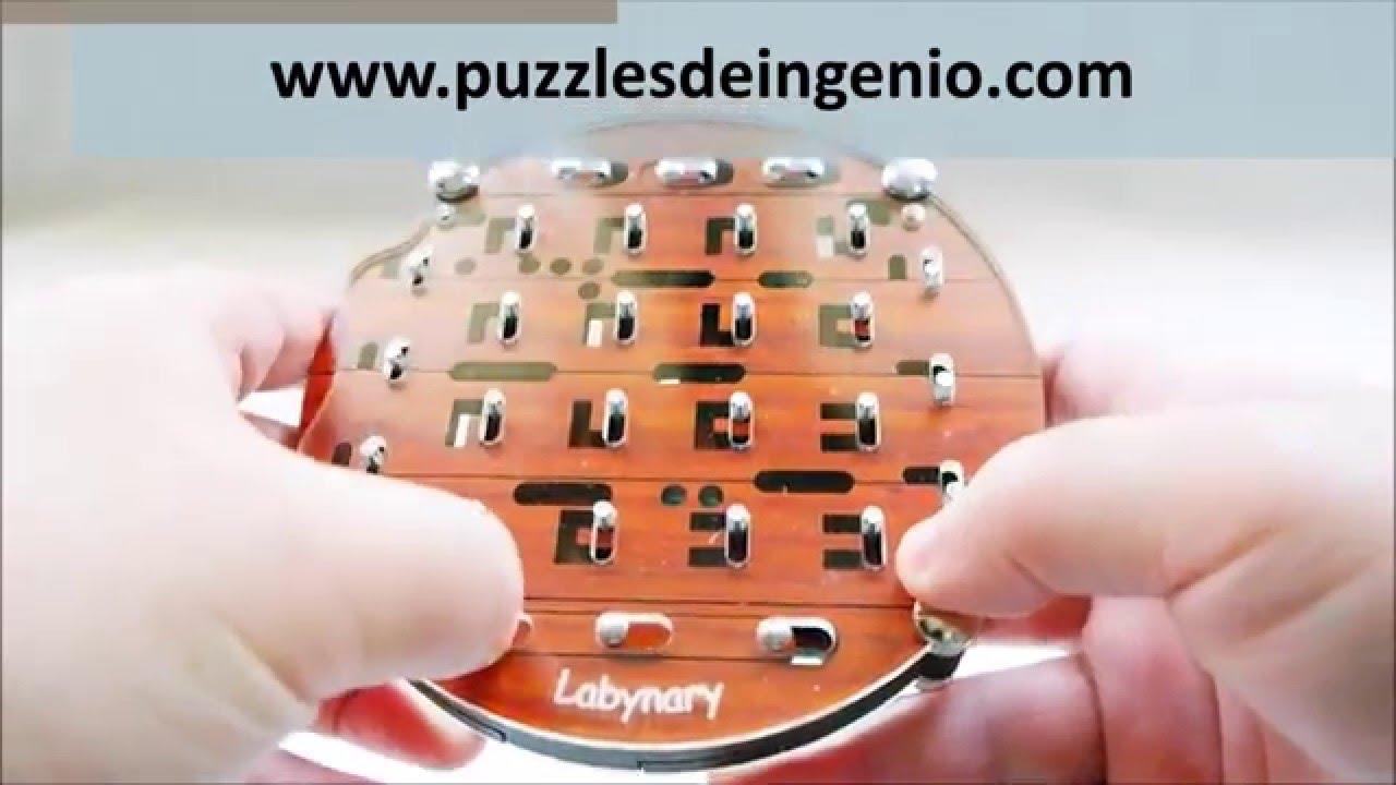 Demo Puzzle Labynary Jean Claude Constantin