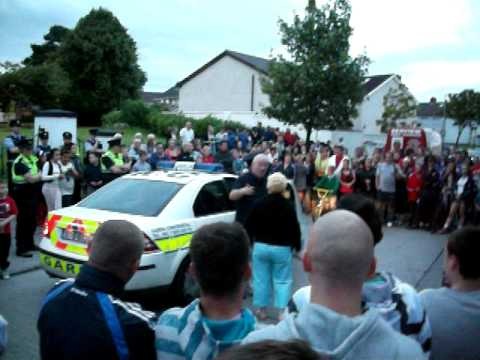 Larry Murphy Protest Coolock ( in  HD )
