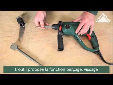 Enlever Du Carrelage Avec Le Perforateur Pbh 2100 Re Youtube