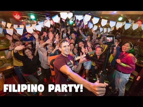 PARTYING IN HONG KONG WITH FILIPINOS! (OFW Celebration with Cebu Pacific)