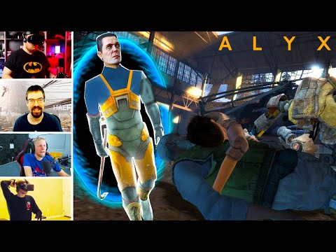 Streamers React To HALF-LIFE: ALYX Surprise Ending (Post Credits Scene)