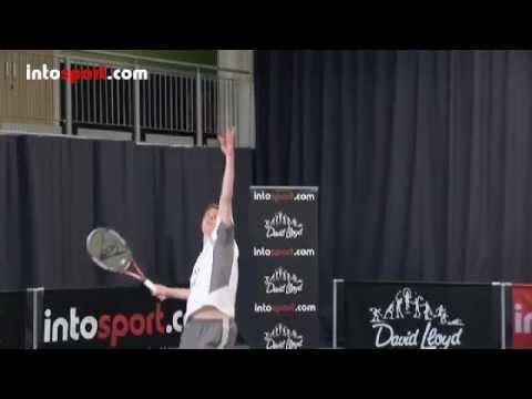 Tennis Serve _ Các bí quyết khi Giao bóng _ Thả tay _ Dồn lực tăng gia tốc vào 1
