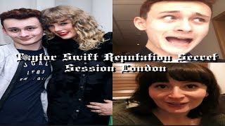 Taylor Swift Reputation Secret Sessions - London Experience