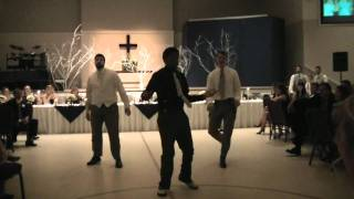 "Surprise dance at wedding reception ""The Time (Dirty Bit)"" by Black Eyed Peas"