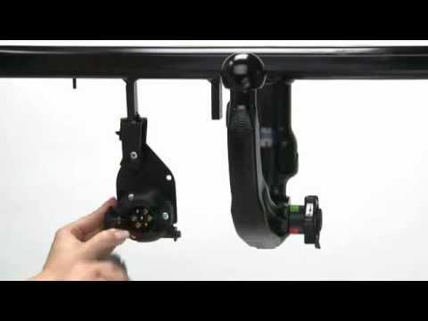 attelage voiture westfalia d montable sans outil youtube. Black Bedroom Furniture Sets. Home Design Ideas
