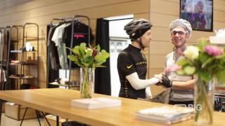 Rapha Cycle Club a Bike Shop offering Bike Gear and Coffee Shop