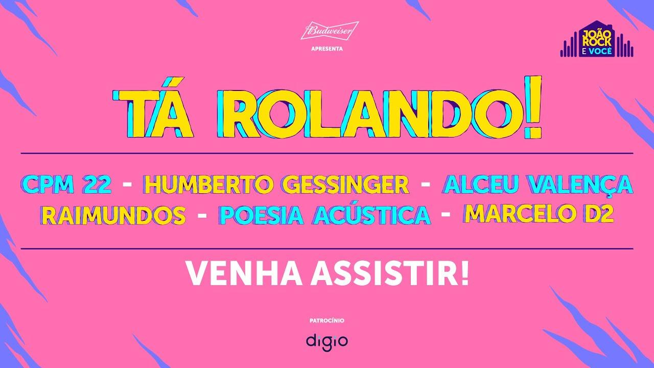 Shows ao vivo: Alceu Valença, Poesia Acústica, Humberto Gessinger, Marcelo D2, CPM 22 e Raimundos.
