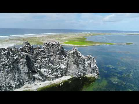 Clipperton Island from above - Aerial Video of Ile de la Passion