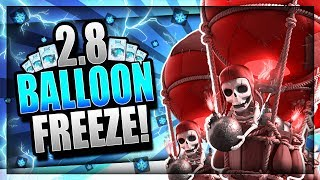 THIS FREEZE CYCLE DECK is INSANE!! 2.8 FAST BALLOON CYCLE! Clash Royale Balloon Freeze Deck
