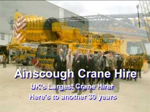 Ainscough Crane Hire - Lifting Standards For Over 30 Years