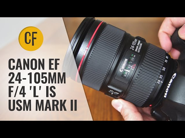 Old vs. New: Canon EF 24-105mm f/4 IS USM L ii lens review and comparison video