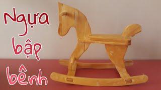 NGỰA GỖ BẬP BÊNH | ROCKING WOODEN HORSE
