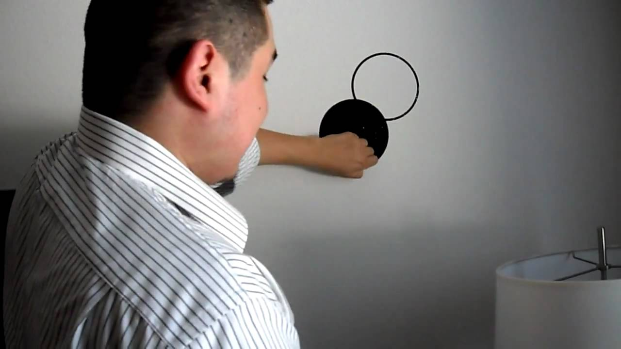 How to Remove Wall Stickers - YouTube