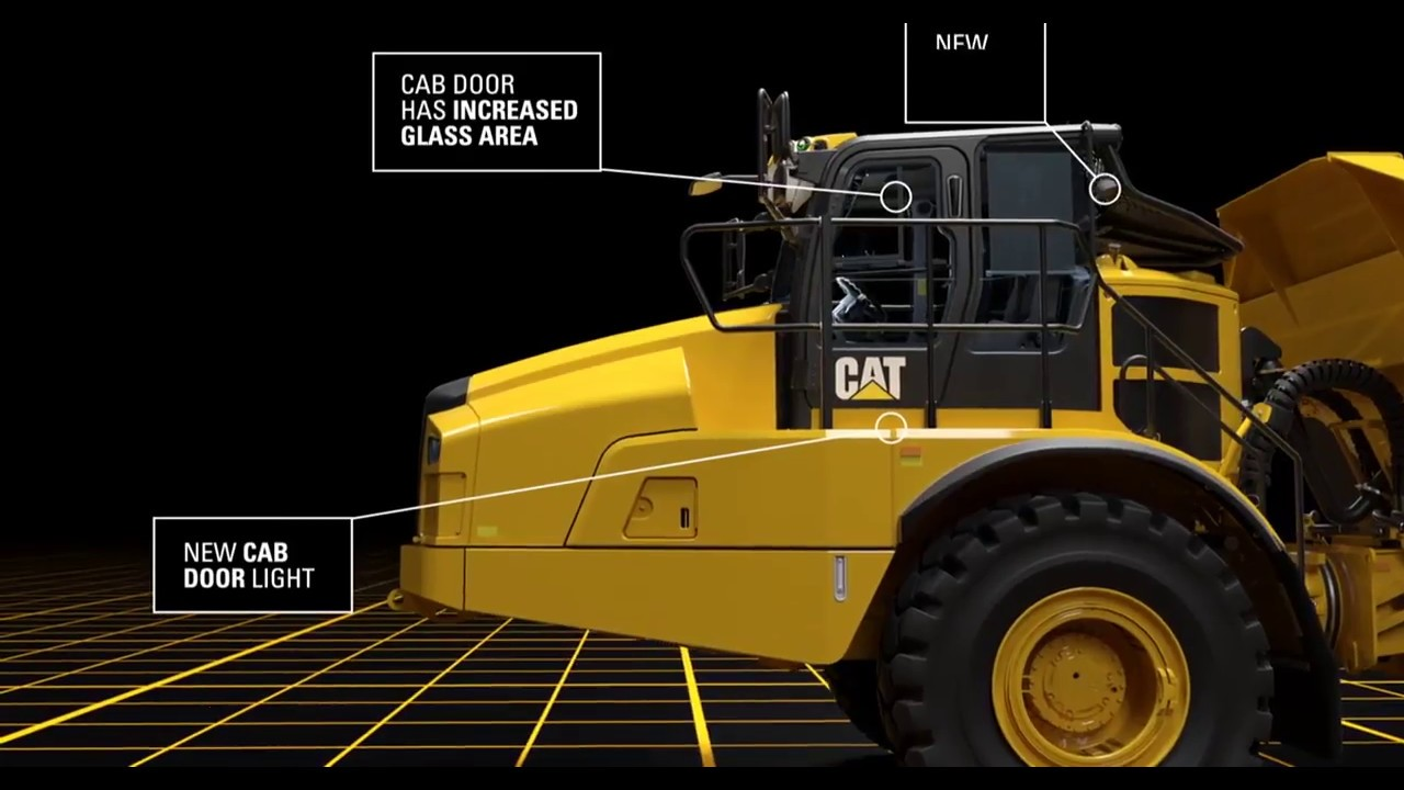 Introducing the new Cat® 745 Articulated Truck